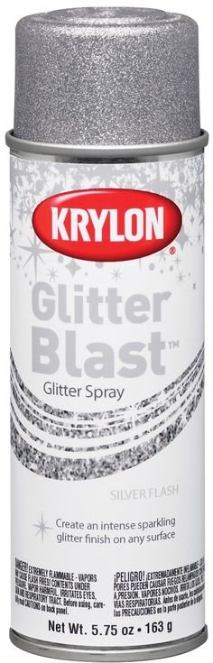Glitter Spray paint!  WHAT!!!!!!!!!!!!!!!!!!!  @Sarah Chintomby Chintomby Marchlewski now this is truly magical!