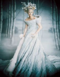 Tilda Swinton, Snow, Fashion, White, Ice, Snow Queen