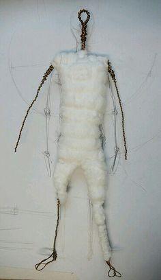 Wire needle felt tutorial for bodies