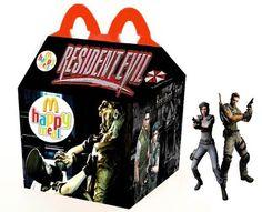macdonald happy meal film d horreur resident evil   McDonald Happy Meal films dhorreur   parodie McDonald horreur happy meal film