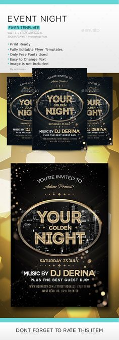 Boxing Event Flyer Event Flyers Fonts And Flyer Template