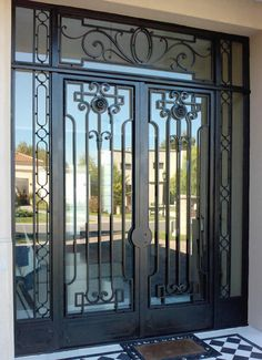 Diseno de puertas modernas de herreria