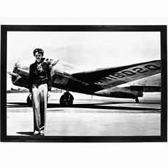 Amelia Mary Earhart (July 1897 – disappeared July was an American aviation pioneer and author. Earhart was the first female pilot to fly solo across the Atlantic Ocean. She received the U Who Is Jack, Mary Celeste, Amelia Earhart, Empty Wall Spaces, Marie Curie, Richard Iii, Amelie, Art History, History Facts