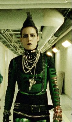 "Noomi Rapace as Lisbeth Salander in the Swedish ""The Girl With The Dragon Tattoo"""