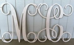 @ MM want to spilt this with me??? 2 Deal Two 18 inch Single Wooden Monogram by LeagueofLetters, $23.00