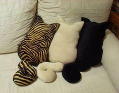Gatti cuscini