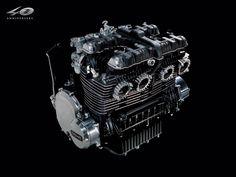 Kawasaki Z1 1972 Engine たまんねーな (^^)