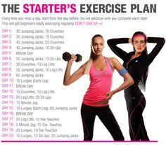 Great beginner's workout