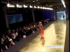 Francisco Ayala fashion show. Fall winter 2013.Coleccion Francisco Ayala  otoo invierno 2013.BAAM Sheraton Hotel