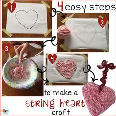 Easy string heart cr