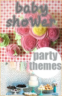 Baby Shower Themes. Great ideas for baby showers and parties. Use these creative theme-ideas to celebrate your next party. Cute themes for kids parties.