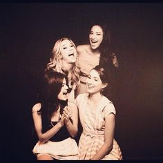 Lucy Hale, Shay Mitchell, Troian Belissario, Ashley Benson.
