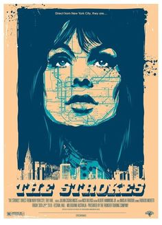 The Strokes gig poster