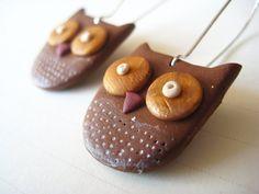 Polymer Clay - Owl