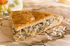 Классический пирог с рисом и рыбой - рецепт с фото / Простые рецепты