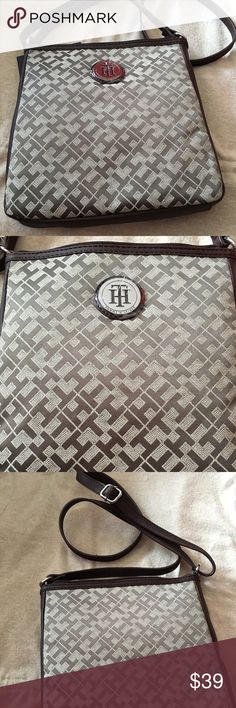 Tommy Hilfiger fashionable crossbody bag. Tommy Hilfiger  fashionable cross body bag. Lovely brown color, very practical and great addition for any look. From smoke/pet free home. I usually ship same or next day. 😀 Tommy Hilfiger Bags Crossbody Bags