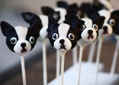 Boston Terriers!!!! I need to make these!