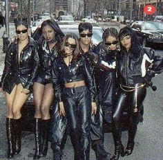 """The popular singing group """"Total"""" with female rappers Lil' Kim, Da Brat & Foxy Brown 90s Hip Hop, Hip Hop And R&b, Afro, Hip Hop Fashion, 90s Fashion, Lolita Fashion, Couture Fashion, Fashion Boots, Style Fashion"""