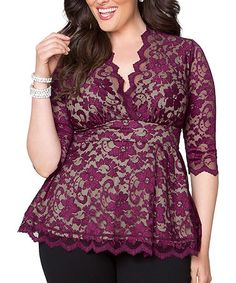 LOVING this top and this company SWAK...they carry up to sizes 5x and actually have their clothes on fabulous plus size models too!
