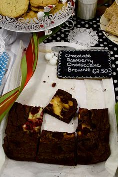 Since eating a Chocolate Raspberry Cheesecake Brownie in Dec 2012 - I since dream of these...so tasty :D Made by Caryna's Cakes Dublin Photo via http://thisisalainn.blogspot.co.uk/