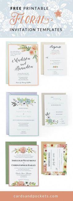 Free Printable Invitations Templates Wedding Diy Make Your