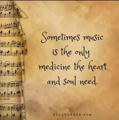 music is the only medicine the heart and soul need.Sometimes music is the only medicine the heart and soul need. The Words, Music Is Life, My Music, Opera Music, Soul Music, Sebastien Bach, Mundo Musical, Music Heals, Music Therapy