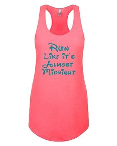 Pin for Later: 33 Pieces of Disney Workout Gear That'll Get You Pumped . . . Princess Style  Almost Midnight Running Tank ($19)