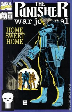 Punisher War Journal (1988 1st Series) 44 Marvel Comics Modern Age Comic book covers