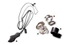 JULIUS x Garni Collection. Love the oxidized ring.