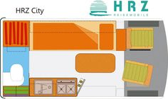 Grundriss: HRZ City