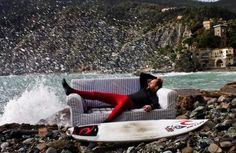 se tutti potessero avere un lavoro come questo sarebbe grande; Photo by #Surf Levanto