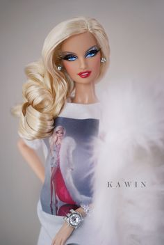 Barbie white hot angels images