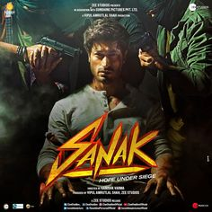 When love is in danger, nothing can stop the rage!🔥 Presenting #Sanak, our next action extravaganza, A #VipulAmrutlalShah Production, starring #VidyutJammwal, #RukminiMaitra, #NehaDhupia and #ChandanRoySanyal, Directed by #KanishkVarma. Produced by #VipulAmrutlalShah and #ZeeStudios