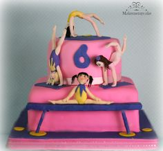 little gimnastics girls!