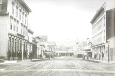 Pioneer Square - Seattle 1880's