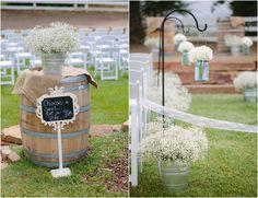 Rustic Farm Wedding Decorations