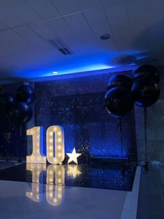 Lights Decor for an Anniversary or Birthday | Custom led lettersby LAvenueStudio. Big number lights | Large event numbers. Large marqueeletter lights for pub or cafe decor, event decor! Our large marquee letters are possible in any size for your wedding, party, event decor, etc.