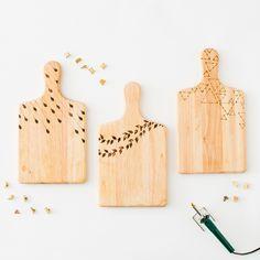 DIY Woodburned Cutting Boards