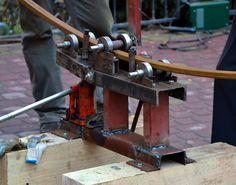 ТРУБОГИБ самодельный ручной для профильной трубы ( tube bender )