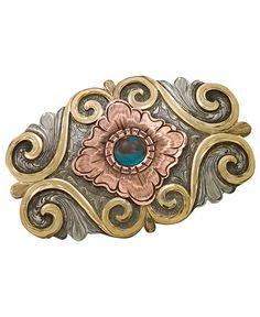 Montana Silversmiths Copper Swirl Buckle