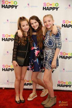 """Mackenzie Ziegler at the """"So So Happy Beauty Launch Party"""" [2016]"""
