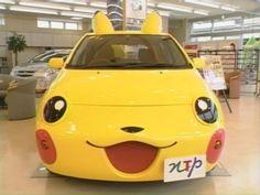 PIKACHU CAR! :0