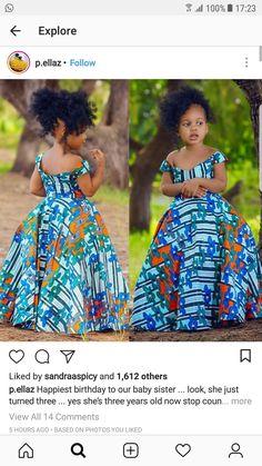 Roupa infantil #traditionalafricanfashion
