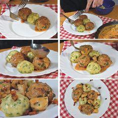 Bakonyi húsgombóc - Piroskockás Ethnic Recipes, Food, Essen, Meals, Yemek, Eten