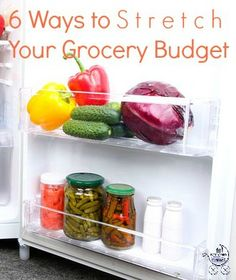 How your phone can save you money on groceries and five other budget-stretching grocery tips.
