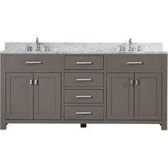 "Mercury Row Arax 72"" Double Sink Bathroom Vanity"