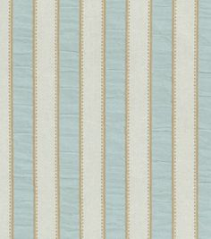 Home Decor Upholstery Fabric-Waverly Sally Stripe / Nest & home decor fabric at Joann.com