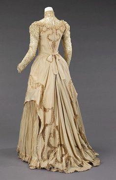 Herbert Luey Evening dress | Met Museum | ca. 1890