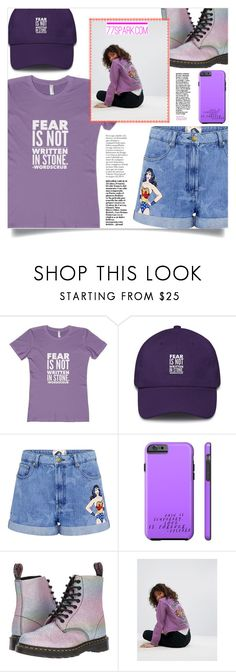 """""""Fear is not writen in stone! (29)"""" by samra-bv ❤ liked on Polyvore featuring Paul & Joe Sister, Dr. Martens and ASOS"""