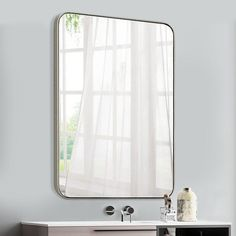 Top Product Reviews for Abbyson Radiance Round Wall Mirror   Overstock.com   15588665 Mirror Shapes, Wall Mounted Mirror, Wall Mirror, Corner Mirror, Single Bathroom Vanity, Mirror With Lights, Vanity Set, Mirrored Vanity, Home Decor Outlet